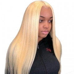 Osolovelybeauty Transparent Lace 613 Blonde Straight 6x6 Closure Free Part Human Hair Lace Closure Swiss Lace 12''-22'' Virgin Hair