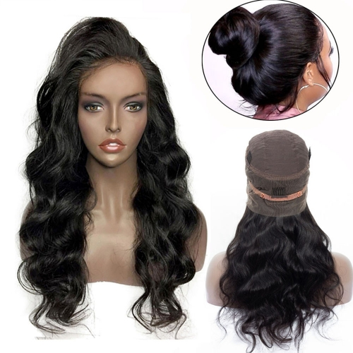 Osolovely Beauty Body Wave 360 Lace Frontal Wig Straight Wigs 360 Full Lace Front Human Hair Wigs For Black Women Pre Plucked With Baby Hair