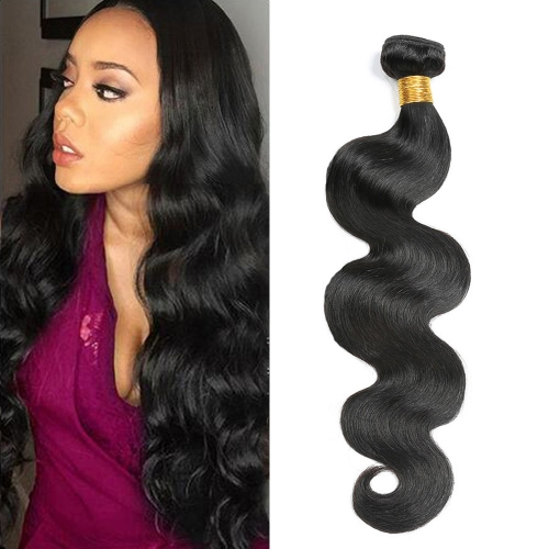 10-40Inch Body Wave Hair Bundles 100% Human Hair Weave Natural Color Osolovelybeauty Non Remy Hair Extension1 pcs