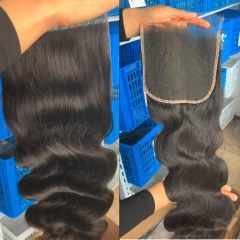 New Arrival Swiss HD Lace Closure 6x6 Lace Closure Body Wave Virgin Hair Free Part Pre pluncked Closure Unprocessed Human Hair