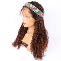 Osolovelybeauty 1B/4 Ombre Color 13x6 Lace Front Human Hair Wigs With Baby Hair 13*6 Curly Hair Lace Wig Free Part