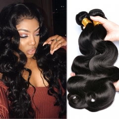 Osolovelybeauty Hair Body Wave Bundle 3 Pcs 10-30 inches Can Buy Mix Lengths Human Hair Weave Bundles Remy Hair Extensions