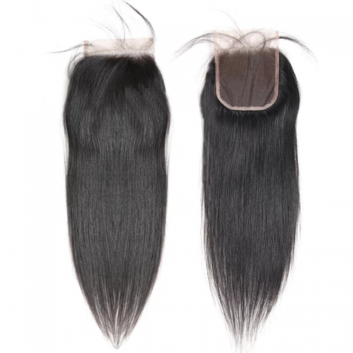 New Arrival Swiss HD Lace Closure 4x4 Lace Closure 100% Human Virgin Hair